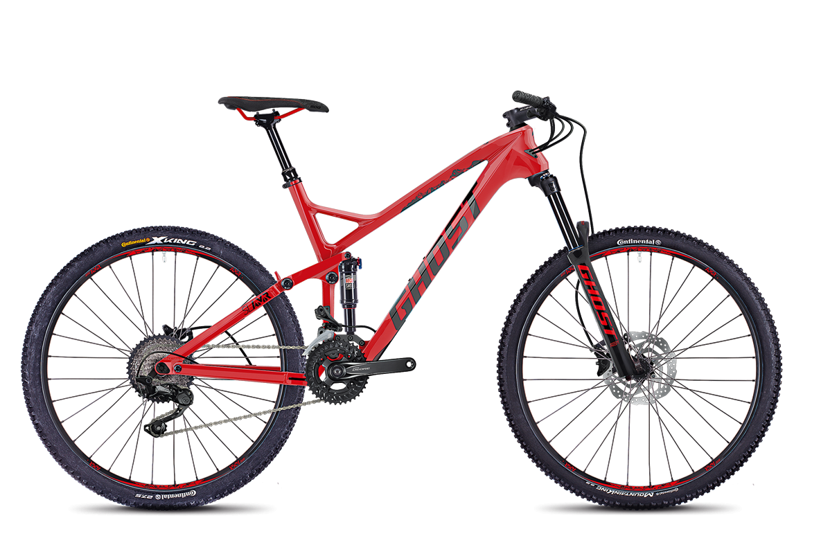 Ghost SL AMR 3.7 LC red/blk XL 2018