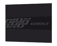 Ghost Chainstay Protector medium black